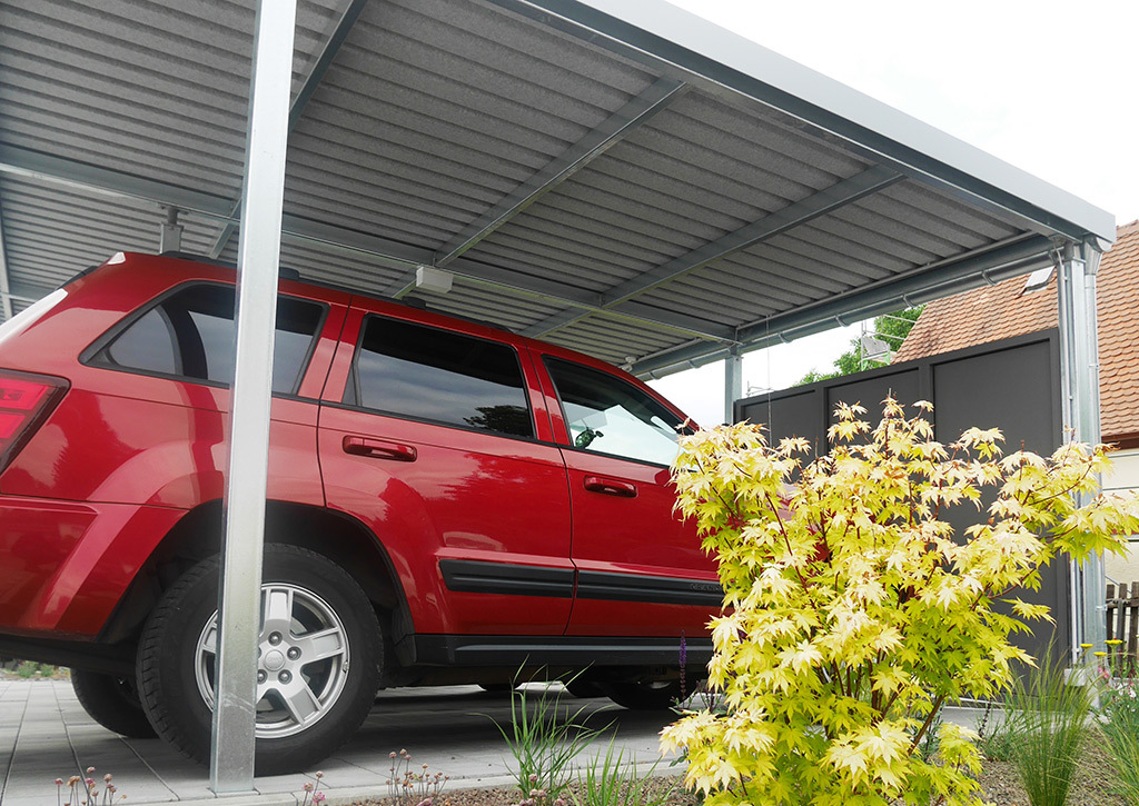 Metall Carport Modell Basis
