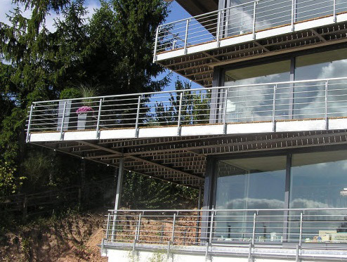 XXXL-Balkon Metall Sonderkonstruktion