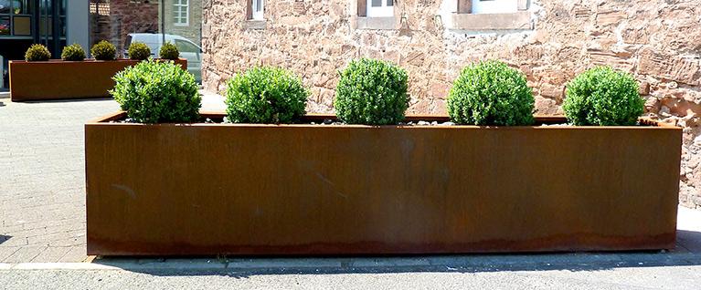 Cortenstahl Fur Fassaden Zaune Und Tore Oder Dekorative Produkte Im