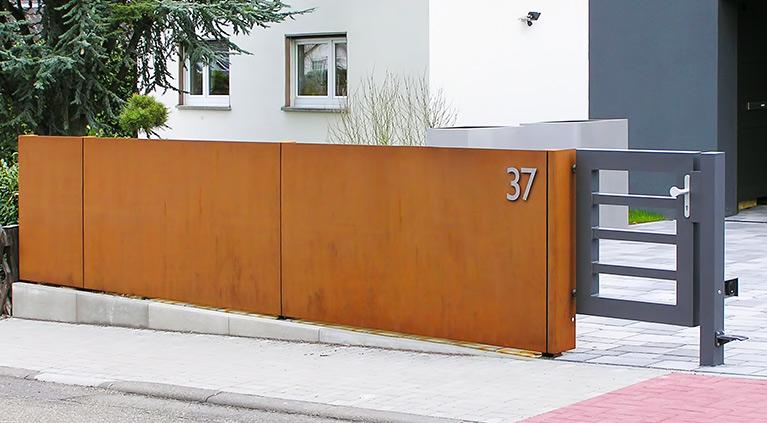 Gartengestaltung Sichtschutz Stahl Images. 34 Ideen Fr Sichtschutz