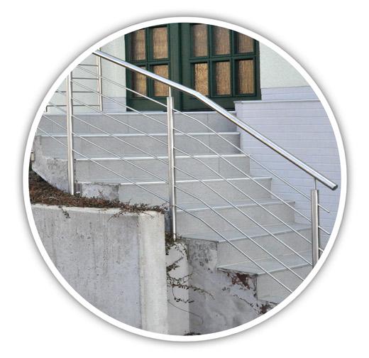 Geländer Reling